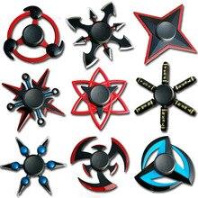 Наруто палец Спиннер три креста Спиннер металлический Спиннер игрушка EDC писк для детей/взрослых игрушки оптом Спиннер гироскоп