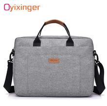 Мужской холщовый деловой портфель офисная дорожная сумка мессенджер