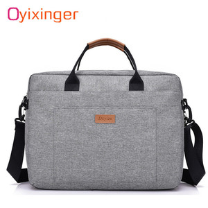 Men Canvas Business Briefcase