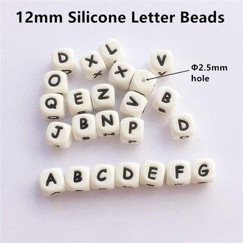 Chenkai 100 Sztuk 12mm BPA Bezpłatne Luźne Silikonowe List Gryzak Koraliki DIY Smoczek Dla Niemowląt Biżuteria Gryzaki Zabawka Sensoryczna Akcesoria