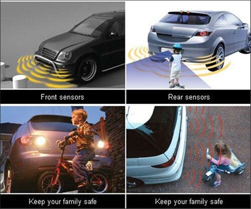 Auto Parktronic Parkplatz Sensor Kit Display 4 Sensoren Für Chevrolet Cruze Aveo Lacetti Captiva Cruz Funken Orlando Epica Sonic