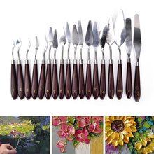 1 шт., практичная палитра из нержавеющей стали, инструменты для очистки, лопата, краска для шпателя, инструмент для художника, для офиса, школьные принадлежности