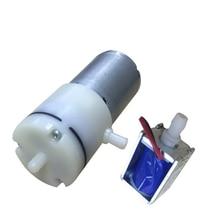 купить 370 motor A vacuum pump, micro atmospheric sampler gas detector air pump, high vacuum metering pump дешево