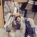 Оптовая Череп мыс шарф женщин voile шарфы шифон шаль женские платки дамы типпет femme wrap пашмины летом продажи