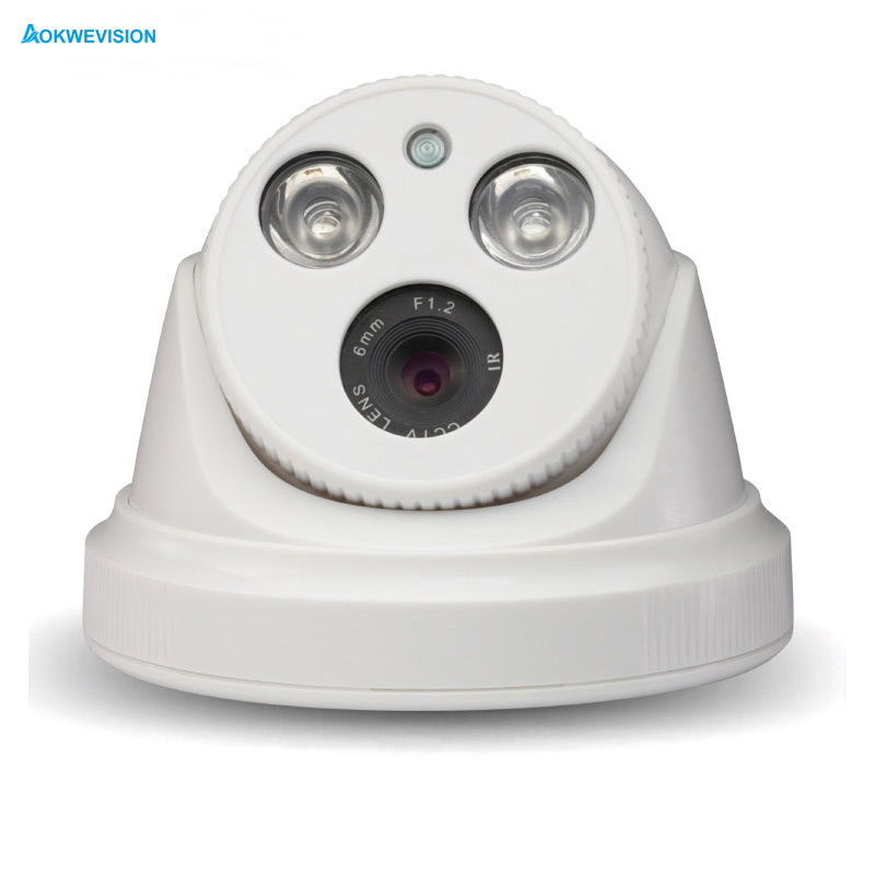 1.0MP 1.3MP 2MP IP Camera 1080P indoor dome Night Vision CCTV Surveillance HD 720P Camera Security ONVIF XMEye hd 720p ip camera onvif black indoor dome webcam cctv infrared night vision security network smart home 1mp video surveillance