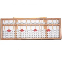 high quality 13 column wood hanger NON SLIP Abacus Chinese soroban Tool In Mathematics Education for teacher XMF023
