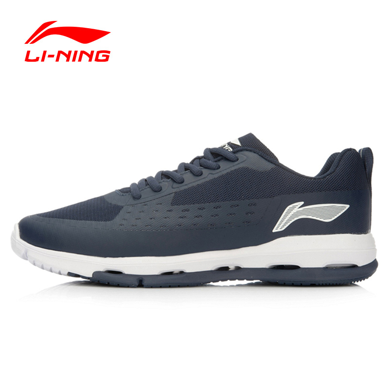 Li-Ning Men's Walking Shoes Urban Workout Air-Fluid Sneakers Cushioning Breathable Footwear Sports Shoes Li-Ning ACGL059 YXB020 original li ning men professional basketball shoes