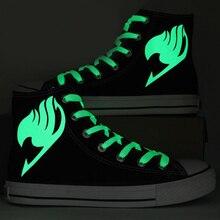 Luminous Fairy Tail Logo Sneakers
