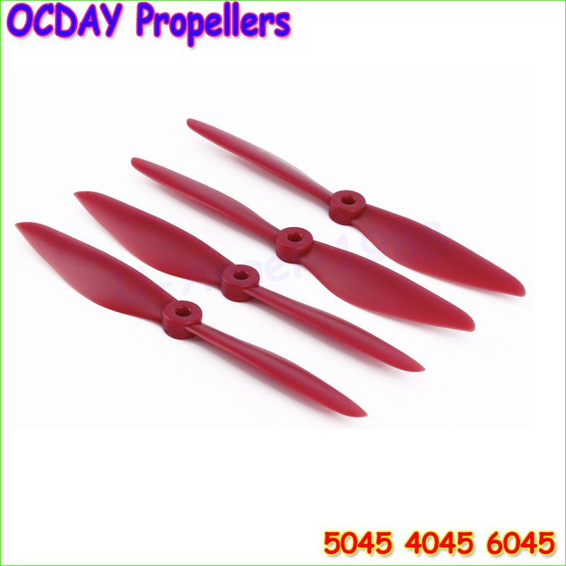 4pcs/lot Original OCDAY 5045 6045 Strengthen Props Propellers V2 CW CCW Propeller For Multi Copter Quadcopter (2 pairs ) f17778 4pcs lot 2 pairs fpv nylon fiber cw ccw propeller for yuneec typhoon q500