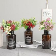Wedding Party Valentine Day Present Gift Home Decor Decration Artificial Berry Fruit Eucalyptus Flower Plants Fake Silk Flowers