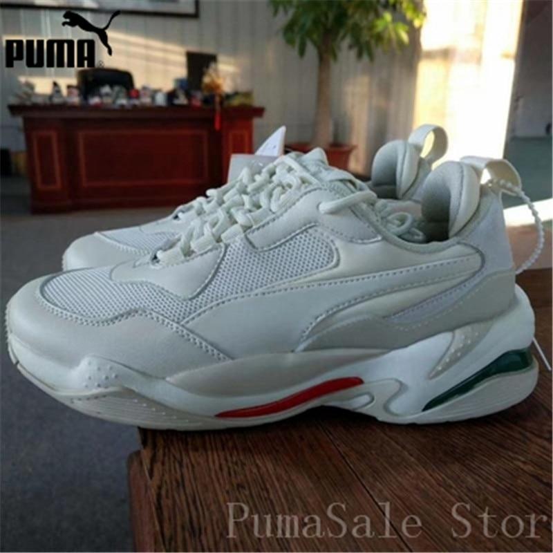 PUMA Mens Thunder Desert Sneakers Men Women Sports Shoes 367516 12  Badminton Shoes Thunder Spectra Retro Dad Shoes 36 45-in Badminton Shoes  from Sports ... 622519ed2