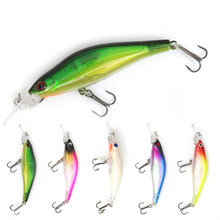 1 piece / simulation bait hard 8CM 5.7g fishing ABS freshwater sea  noeby