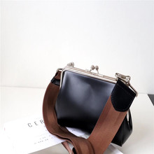 купить Kafunila genuine leather designer bags famous brand women bags 2019 luxury real leather wide shoulder strap small crossbody bags по цене 3344.49 рублей