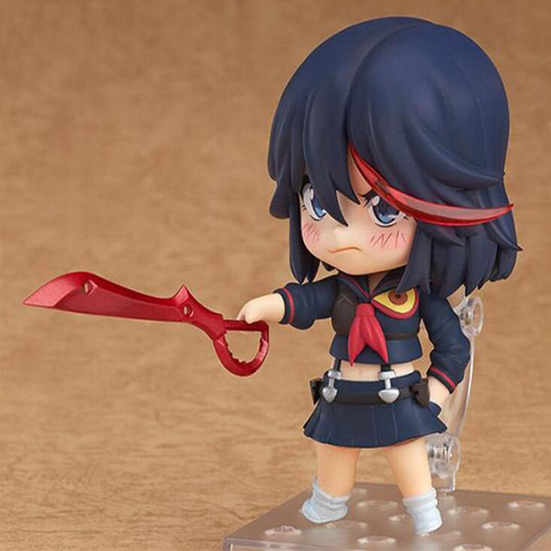 Anime model figure KILL la KILL Matoi Ryuuko Action 407 Nendoroid Movable PVC cartoon toy dolls collection