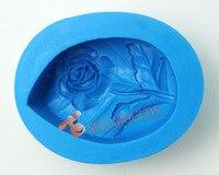 AG025 Gül yaprakları şekil silikon kalıp El Yapımı Sabun Kil el sanatları kalıp DIY dekorasyon araçları