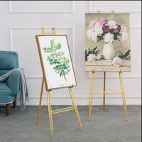 Creative iron oil painting frame frame floor stand display stand poster stand photo bracket wedding easel