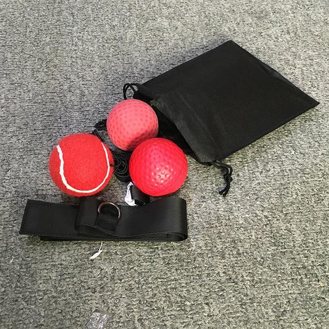 Boxing Reflex Speed Punch Ball Training Hand Eye Coordination Headband Improve Reaction Muay Thai Gym Exercise Equipment bags 3