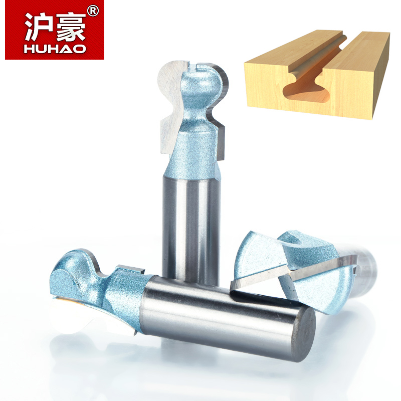 HUHAO 1pcs 1/2 Shank Router Bits for wood Industrial Grade double finger bit Woodworking Tools wood milling cutter endmill huhao 1pcs 1 2 1 4 shank classical router bits for wood tungsten carbide woodworking endmill tools classical mounlding bit