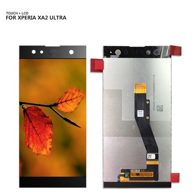 6.0 Pour Sony Xperia XA2 Ultra H4233 LCD Affichage Digitizer Assemblée De Remplacement Des Outils Gratuits