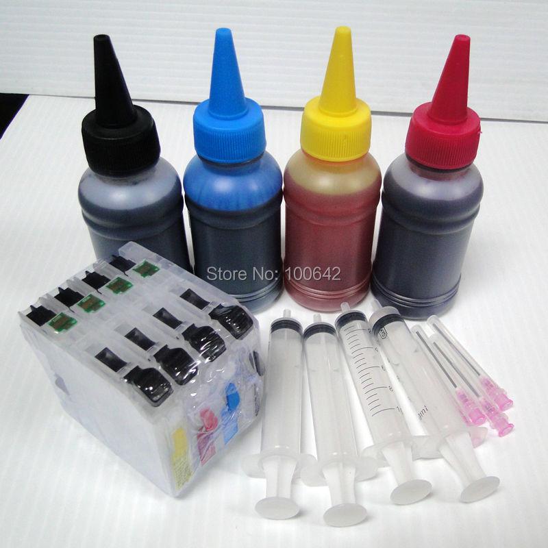 Cartuchos de Tinta 1 conjunto lc223 cartucho de Color : c, k, m, y