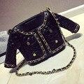 Bolsas de Couro das Mulheres do verão Jaqueta Saco Bolsos Mujer Bolsa Sacos Para Revestimento das Mulheres Cadeia Bolsas Mulheres Famosa Marca sacos