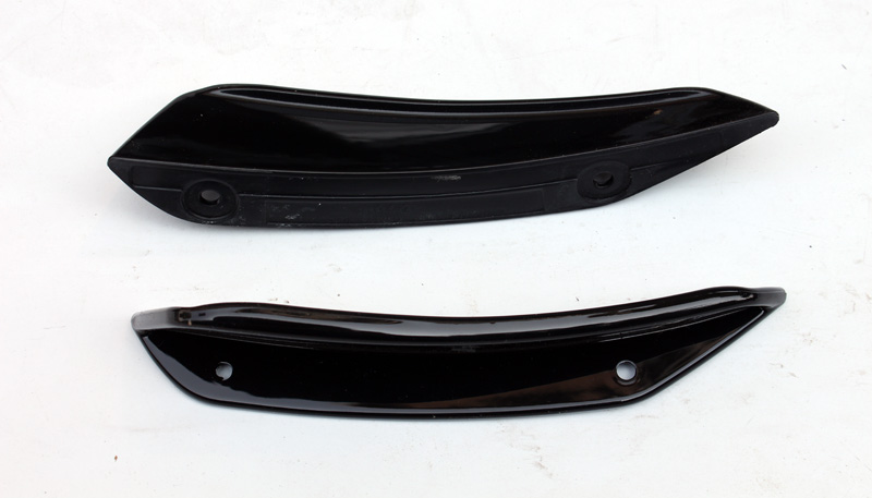 Car-styling Plastic Racing Auto Body Kit Accessories Trim ABS Front Bumper Canard Type-C For Mercedes Benz A-Class W176 16-17 auldey 88010 abs racing car kit