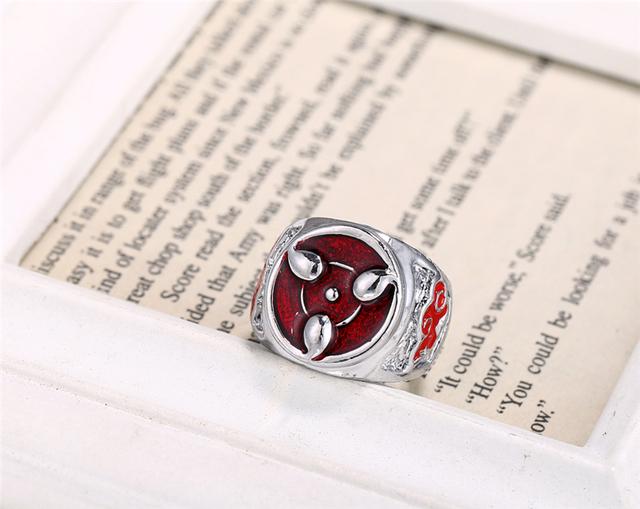 Sharingan Symbol Ring