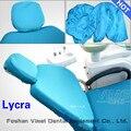 4 unids/set unidad dental Dental cubre asiento de la silla de lycra cubierta de la silla cubierta de la funda protectora silla dental piezas conjunto asiento protector