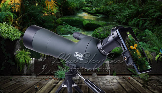 Online shop gomu angled zoom spotting scopes monocular