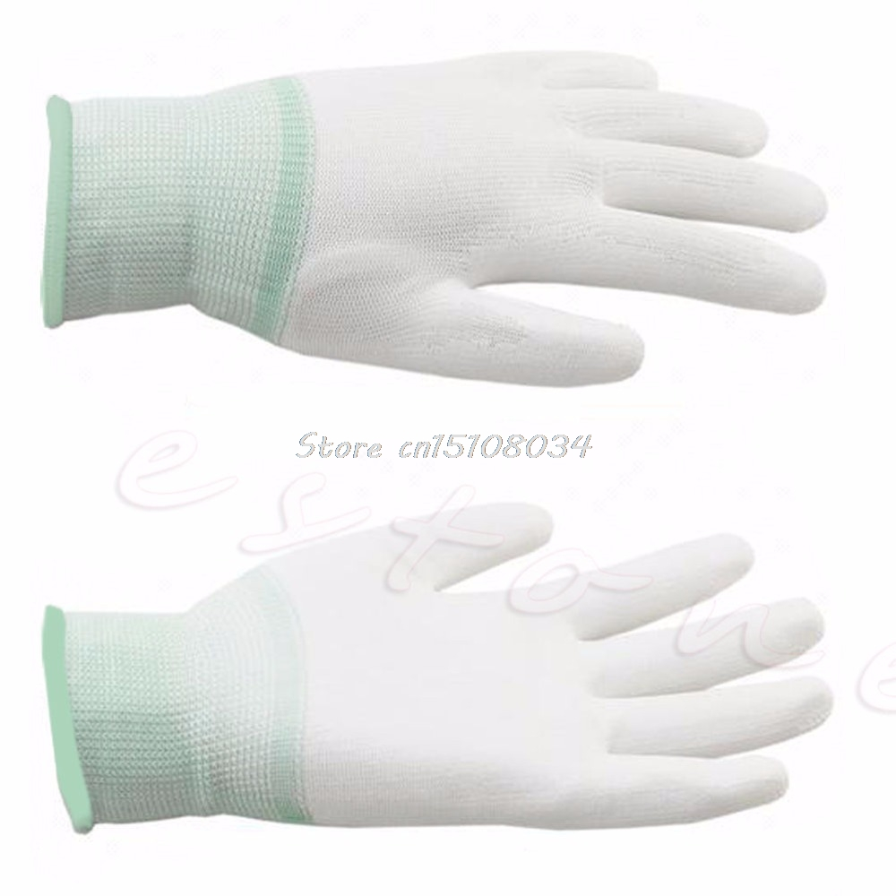 1 pereche Mănuși de matlasare din nylon pentru mașină de mișcare Mănuși de cusut de împletit S08 en-gros și DropShip