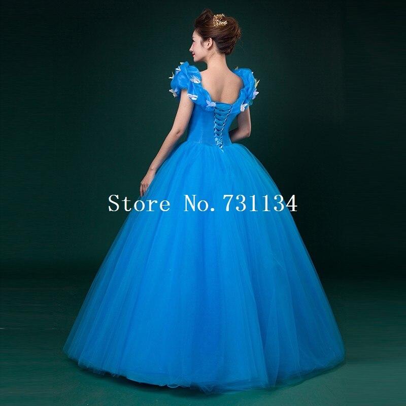 30ecc21ae9 Palace adulte madame Sexy cendrillon bleu robes Occasion spéciale théâtre  scène spectacle papillon Appliques robe de princesse dans Robes de Mode  Femme et ...