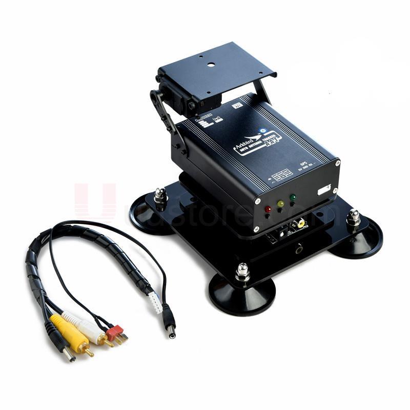 Arkbird FPV Antenna Auto Tracker Giunto Cardanico AAT w/A Terra e In Volo Estendere La Portata 1.2/5.8g Pad e modulo di modulazione Sistema di Terra