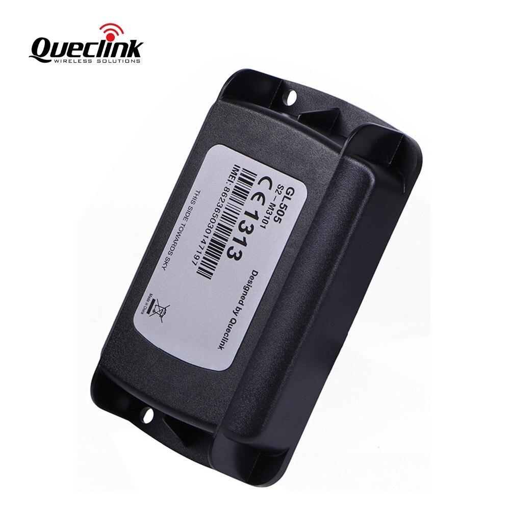 Voiture GPS Tracker Localisateur Étanche Queclink GL505 1300 mAh Rastreador GPS Ne Carro Mini Lokalizator GPS Tracker Veicular Trackers
