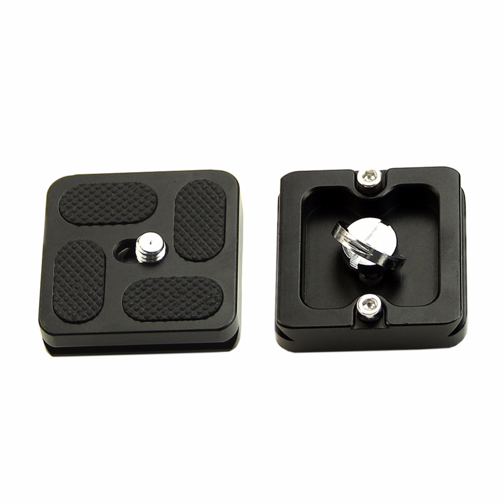 2017 New 40x38mm PU40 Screw Quick Release Plate Compatible B0 J0 PU-40 for Camera