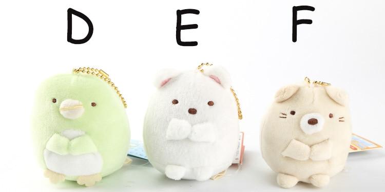 Atacado 10 pçs lote Japão sumikko brinquedos