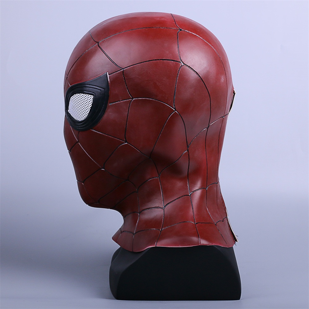 2018 Avengers 3 Infinity War Spiderman Mask Cosplay Iron Spiderman 3D Latex Mask (5)