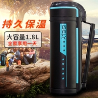 HOT SALE WHOLESALE STAINLESS STEEL THERMAL INSULATION POT TRAVEL OUTDOOR MOUNTAINEERING LARGE CAPACITY WATER CUP PORTABLE KETTLE