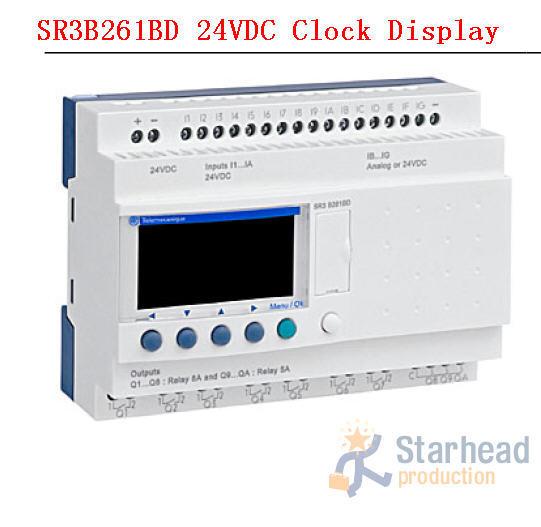 NEW or Used Original Zelio Logic SR3 B261BD SR3B261BD Smart Relay Module for Schneider PLC with