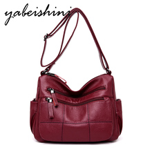 Womens Crossbody Luxury Tote Designer High Quality Cowhide Solid Color Bag Fashion Shoulder Large Capacity