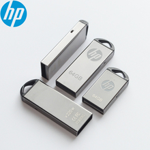 Hp двойной использовать USB Flash Drive 16 GB/32 GB/64 GB накопитель флешки Водонепроницаемый Flash Drive Memory stick USB disk Мини Металл пыле