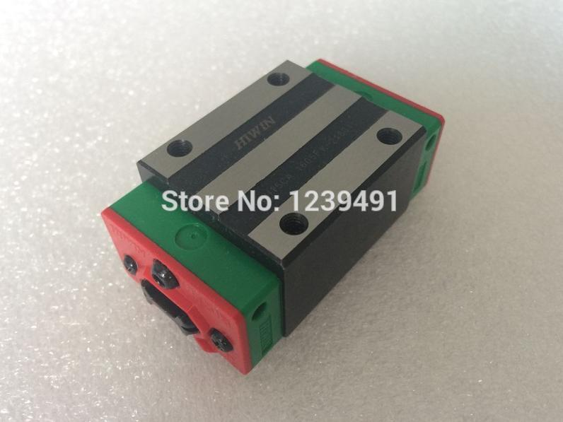 4pcs HIWIN linear carriage block HGH25CA for HGR25 linear guide rails CNC parts 2pcs sbr16 800mm linear guide 4pcs sbr16uu block for cnc parts