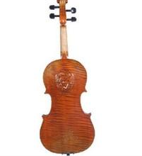 Free Shipping Advanced pattern solid board Handmade Violin Wood Violin with Violin case Carving Violin