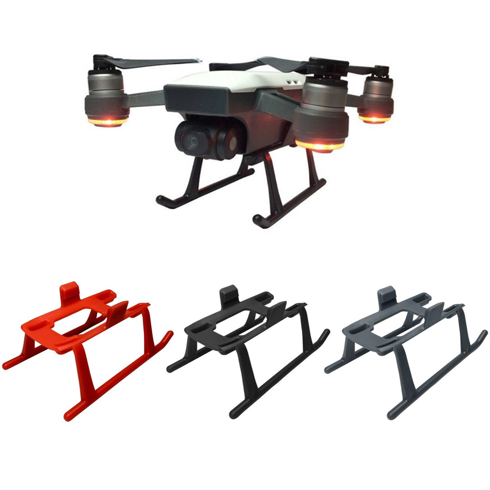 Quick Release Heightened Extended Stand Landing Gear Frame Holder for DJI Spark Drone Undercarriage Undercart Drones Accessories