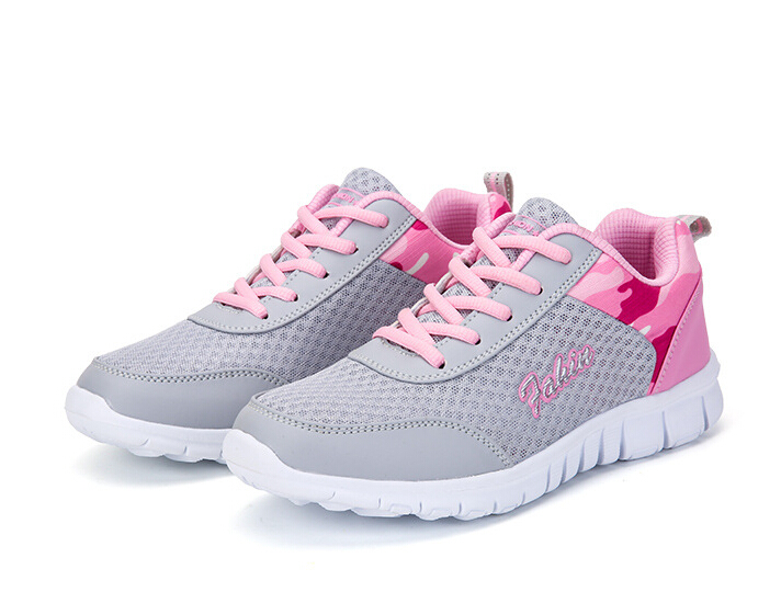 hot sale 2017 new Women Sneakers Ladies Sport White Shoes Running Shoes For women Outdoor comfort Athletic walking jogging shoes