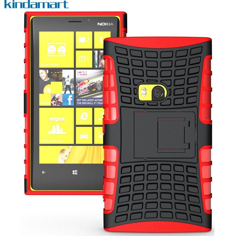 Rugged Armor Case For Nokia Lumia 920 Tpu Pc Dual Cover Protective Phone Coque Funda