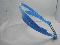 חדש 10 רדיד פלסטיק ו 1 מסיכת מגן מסכת ראש 1 set מגן שיניים רופא שיניים על מכירה