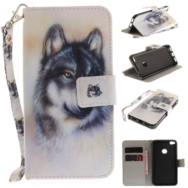 coque huawei p8 lite wolf