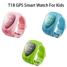 Child GPS Tracker Watch Anti-lost for Kids SOS Emergency Waterproof Smart Watch GSM Wristband Mobile Phone App For IOS Android