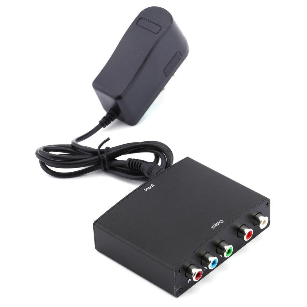 1080 P כבל HDMI ל YPbPr Component RGB וידאו conversor + R/L אודיו מגבר מתאם ממיר עבור HD טלוויזיה S3 מחשב