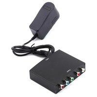 1080 p HDMI a YPbPr componente RGB cable de vídeo conversor + R/l audio adaptador Amplificadores Converter para HD TV S3 PC